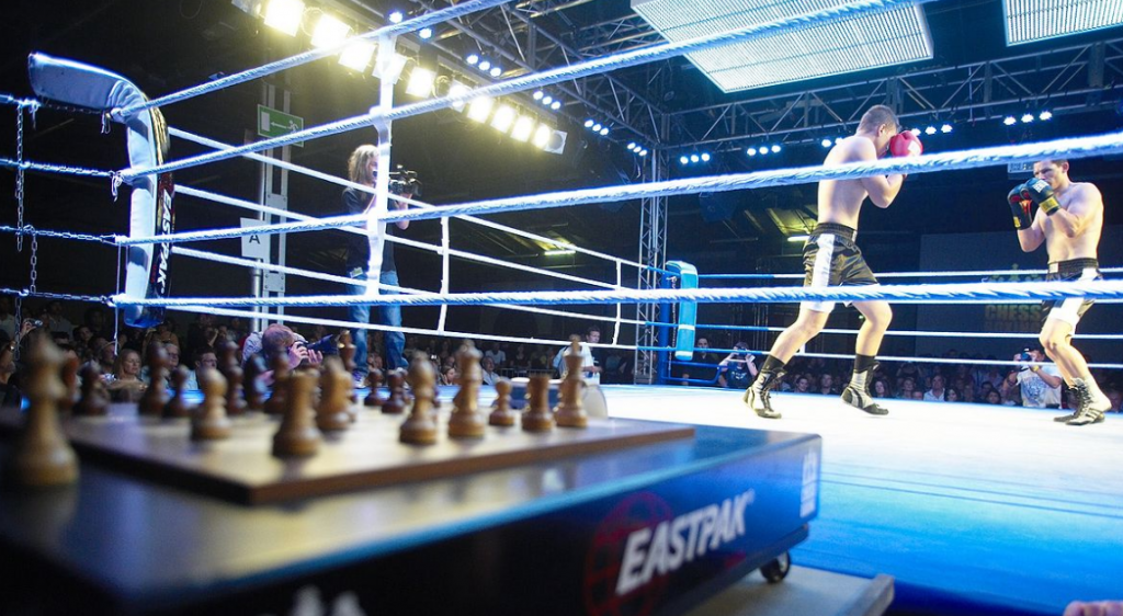 Weirdest sports in the world chess boxing