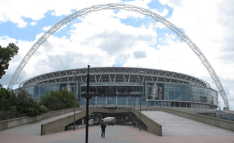 facts about wembley stadium arch