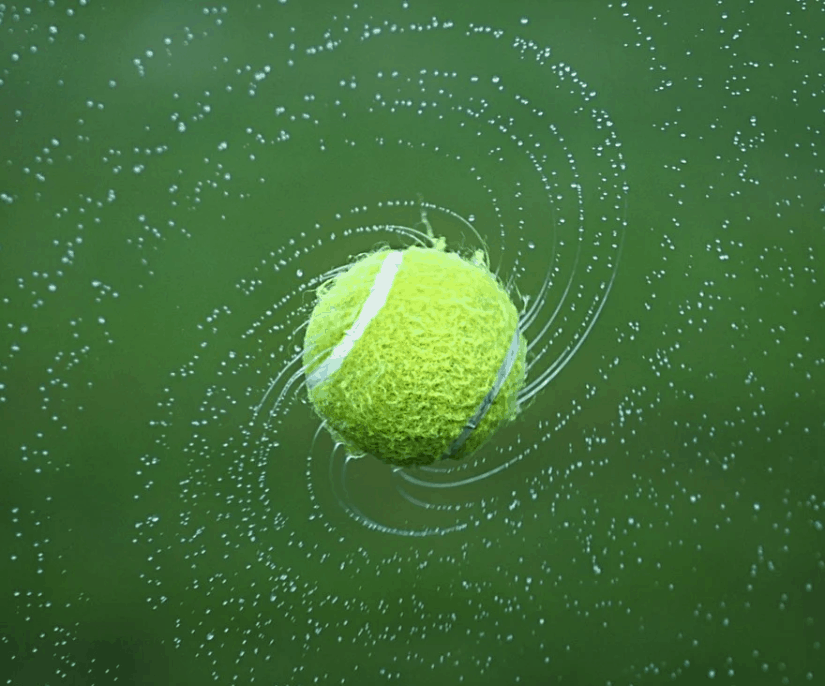 interesting facts about tennis balls
