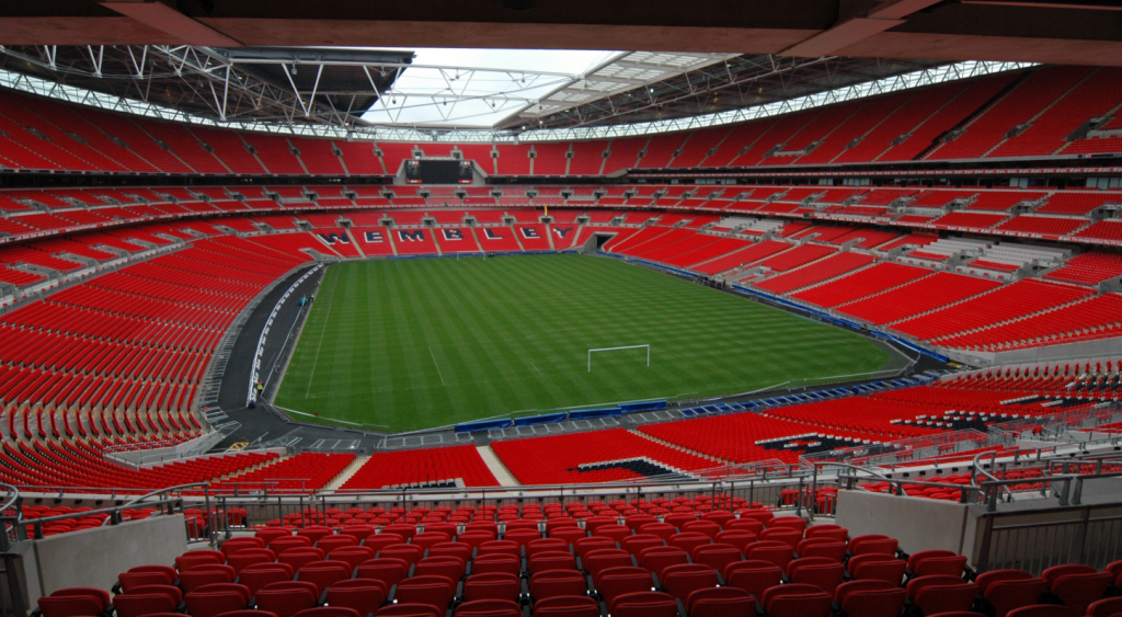 Interesting facts about Wembley Stadium