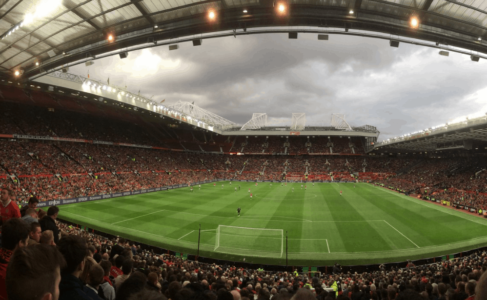 Old Trafford of Manchester United