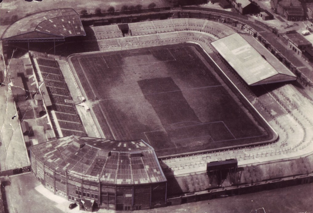 Old Trafford in 1910