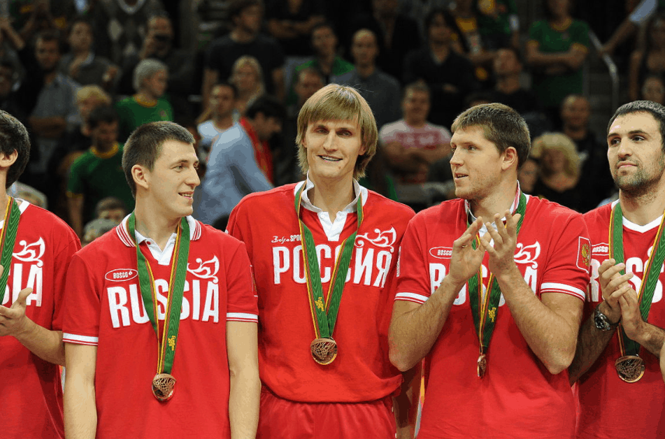 Russia basketball
