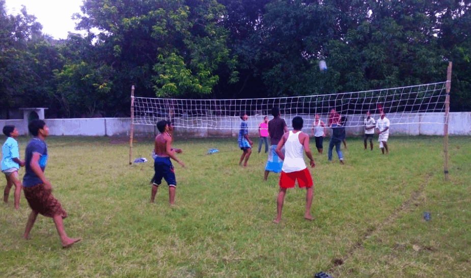 volleyball played in India