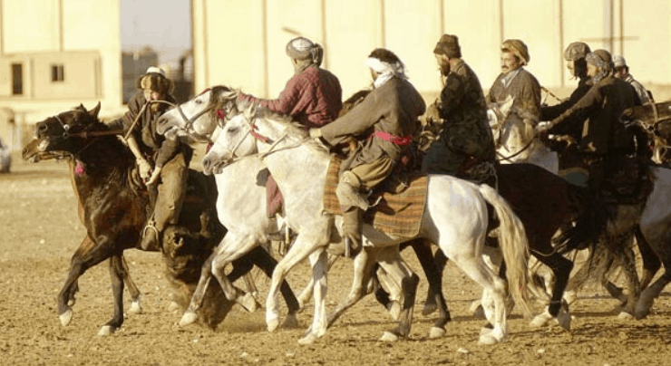 One of the weirdest sports in the world: Buzkashi